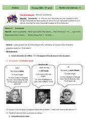 Révisions se présenter – Anglais – Famille Vadrouille : 5eme Primaire