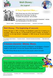 Walt Disney – Anglais – Famille Vadrouille : 4eme Primaire