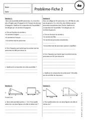 Equation – Inéquation – Problèmes – Exercices corrigés : 2eme Secondaire