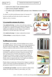 Utilisation des métaux dans la vie quotidienne – Cours – Physique – Chimie : 3eme Secondaire