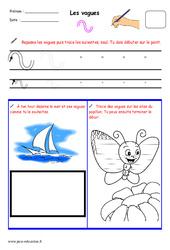 Fichier graphisme : 1ere, 2eme, 3eme Maternelle – Cycle Fondamental
