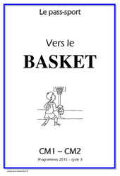 Basket – Cycle complet EPS : 4eme, 5eme Primaire