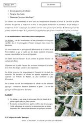 Séismes – Cours – Géologie – SVT : 2eme Secondaire