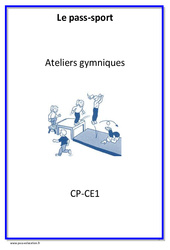 Ateliers gymniques – Cycle complet EPS : 1ere, 2eme Primaire