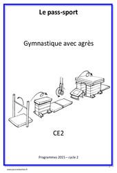 Gymnastique avec agrès – Cycle complet EPS : 3eme Primaire