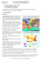 Prévention des risques géologiques – Cours – Géologie – SVT : 2eme Secondaire