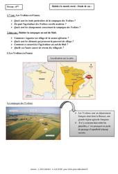 Habiter le monde rural – Etudes de cas – Géographie : 6eme Primaire