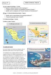 Habiter les littoraux – Etude de cas – Géographie : 6eme Primaire