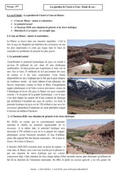 Question de l'accès à l'eau – Etude de cas – Géographie : 1ere Secondaire