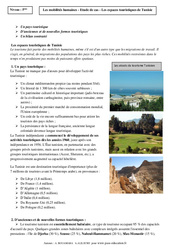 Mobilités humaines – La Tunisie – Etude de cas – Géographie : 2eme Secondaire