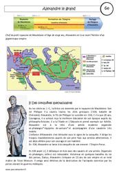 Alexandre le grand – Cours – Civilisation grecque : 6eme Primaire