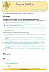 La ponctuation – Soutien scolaire – Aide aux devoirs : 3eme Primaire