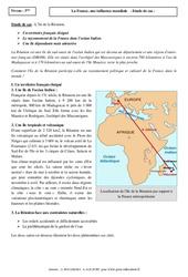 L'île de la Réunion – La France, une influence mondiale – Etude de cas : 3eme Secondaire