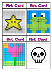 Art card – CE1 – CE2 – Arts visuels