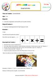 Commutativité - Combinaison des symboles et des chiffres