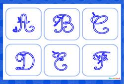 Apprendre à écrire les lettres de l'alphabet – GS – CP – Affiches de classe à imprimer