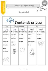 Le son [e] - Leçon - CE1