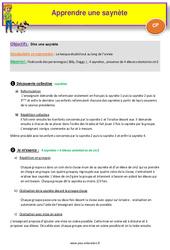 Séquence 3 - Apprendre une saynète - CP - Anglais