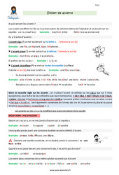 Utiliser les accents - CM1 - Leçon