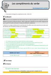 Compléments du verbe - CM2 - Soutien scolaire - Aide aux devoirs