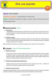 Séquence 3 – Apprendre et dire une saynète – CE1 – Anglais