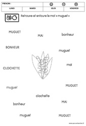 Lecture – Muguet – MS – Moyenne section
