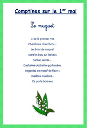 Comptines – Muguet – PS – MS – GS