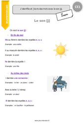 Son [j] - CE1 - Leçon