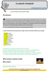 Passé composé – CM2 – Soutien scolaire – Aides aux devoirs