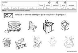 Images – Pâques – GS – Grande section