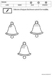 Graphisme - Pâques - PS - Petite section