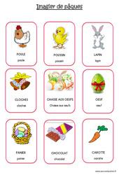 Imagier de pâques - PS - Petite section