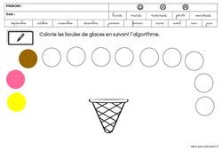 Mathématiques – Été – GS – Grande Section