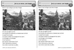 La randonnée – Je lis un texte, une image – Ce1 – Exercices de lecture – Cycle 2