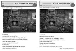 Noël – Je lis un texte, une image – Ce1 – Exercices de lecture – Cycle 2