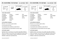 Son [e] / [é] - é - er - ed - ez - Ce1 - Phonologie – Etude des sons