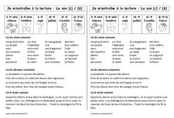 Son [ɛ] / [è] - è - ê - e - et - ei - ai – Ce1 – Phonologie – Etude des sons