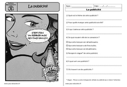 La publicité - Ecrit fonctionnel – Ce1 – Lecture – Cycle 2