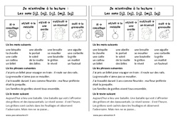 ill -ail,aill – eil,eill – euil,euill – ouill – Ce1 - Phonologie – Cycle 2