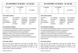 Son y - u - û - eu – Ce1 – Phonologie – Cycle 2 - Etude des sons