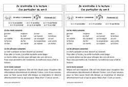 Son è – Devant une consonne - Ce1 – Phonologie – Cycle 2 - Etude des sons