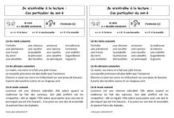 Son è devant 2 consonnes – Ce1 – Phonologie – Cycle 2 - Etude des sons