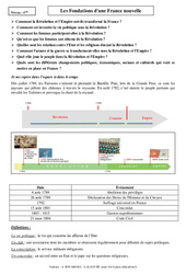 Fondations d'une France nouvelle - 4ème - Cours - Histoire