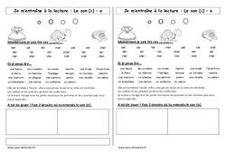 Son o ouvert – Cp - Phonologie – Etude des sons – Cycle 2