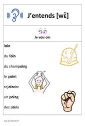 Son oin – Cp – Affichage pour la classe