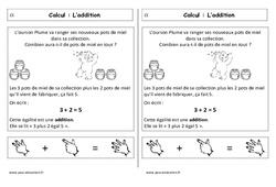 Addition - Cp - Leçon