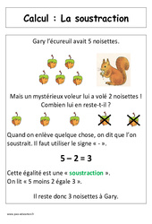 Soustraction – Cp – Affiche pour la classe – Calcul – Cycle 2