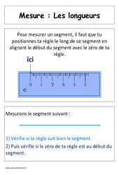 Longueurs – Cp – Affiche pour la classe – Cycle 2