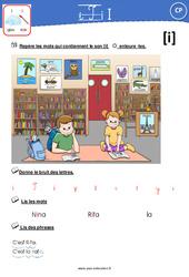 Son [I] - CP - Exercices