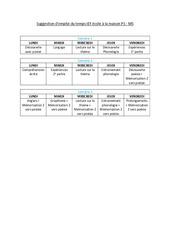 Semaines 1 à 3 – 1er thème: les couleurs – école à la maison : PS – MS – Maternelle en libre téléchargement